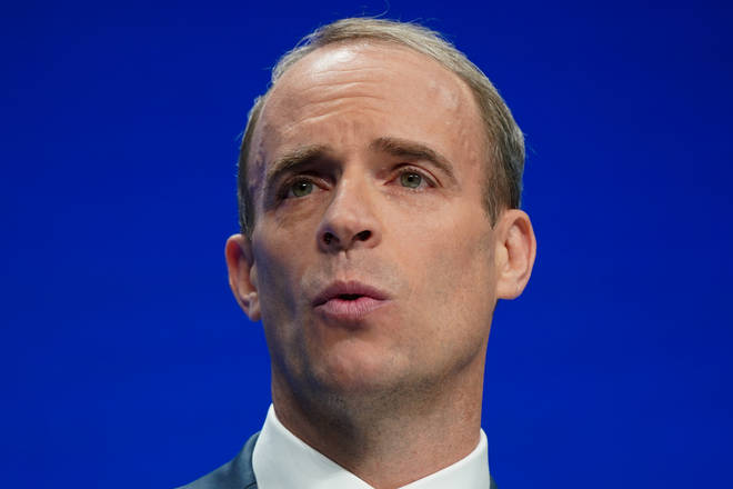 Dominic Raab defended the government's Universal Credit cut