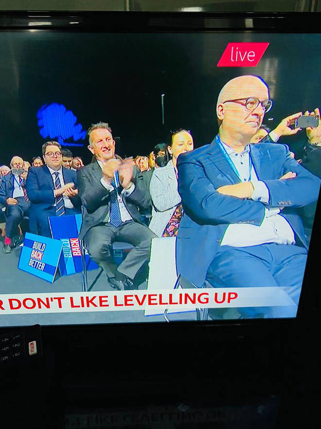 Iain Dale resisted the urge to clap, apart from two times