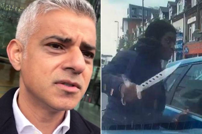 Sadiq Khan disagreed with judge letting knifeman walk free