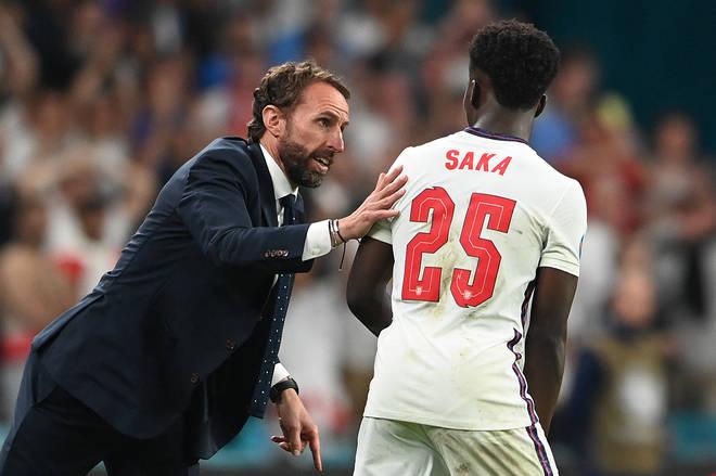 Bukayo Saka also faced racist abuse following the final