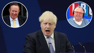 The broadcaster was speaking to LBC's Nick Ferrari