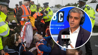 Sadiq Khan has spoken out against Insulate Britain's method of protest