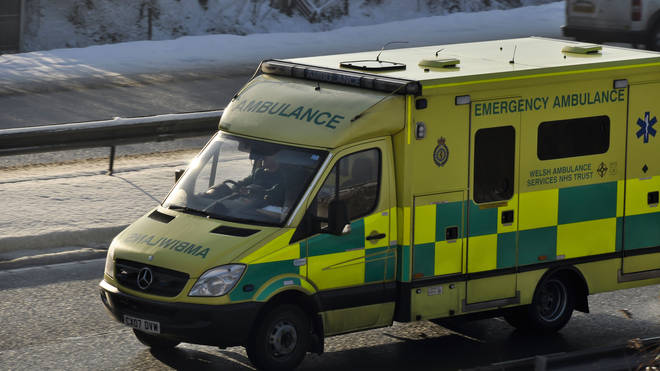 The military have been called in to help the ambulance service.