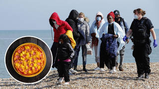 The orders were made in July when more than 3,500 migrants arrived in the UK after crossing channel.