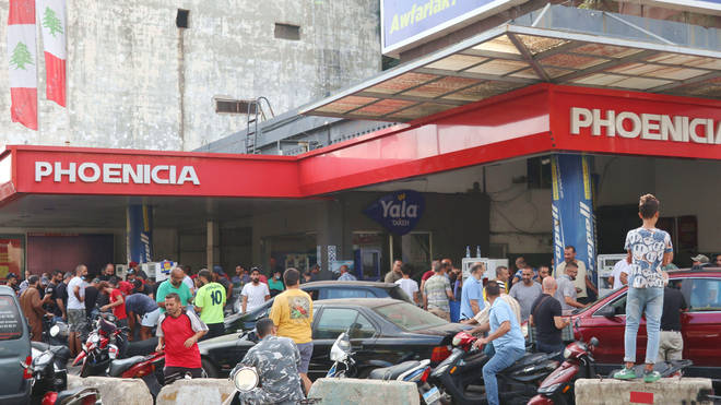 On September 22 Lebanon's newly formed Government raised prices of gasoline, diesel and gas cylinders by about 20 per cent