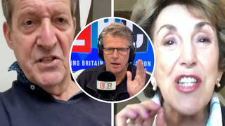 Edwina Currie and Alastair Campbell in furious row over cost of living hike