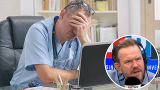 The GP was speaking to LBC's James O'Brien