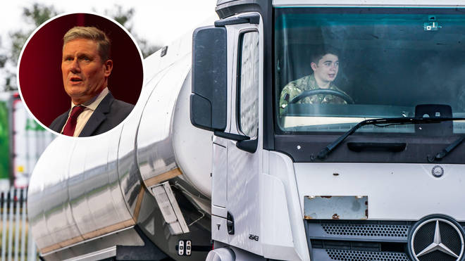 Labour has called on the Government to act with 'urgency' to tackle the shortage of HGV drivers, which has affected supply of many goods including petrol