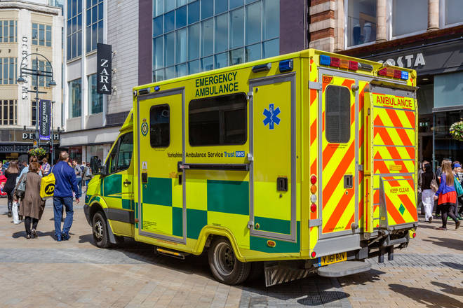 Emergency services are at the scene (stock image)