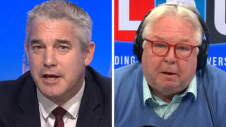 Nick Ferrari quizzed the Cabinet Office minister