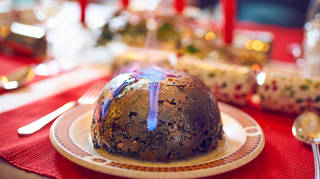 Brits have been stocking up on their Christmas puddings.