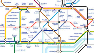 Transport for London have redesigned the tube map to commemorate Black History Month