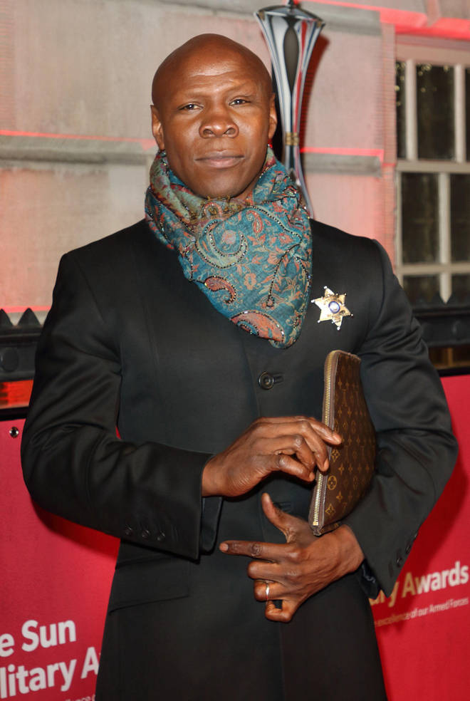 Chris Eubank had his Louis Vuitton bag stolen in London attack.