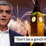 """The Mayor of London has been branded """"the grinch"""" for cancelling London's NYE fireworks."""