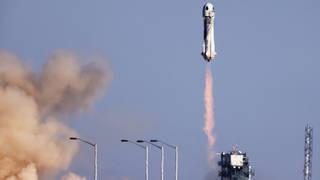 Blue Origin Launch.