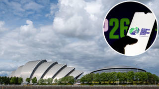 COP26 will be held at the Scottish Event Campus in Glasgow