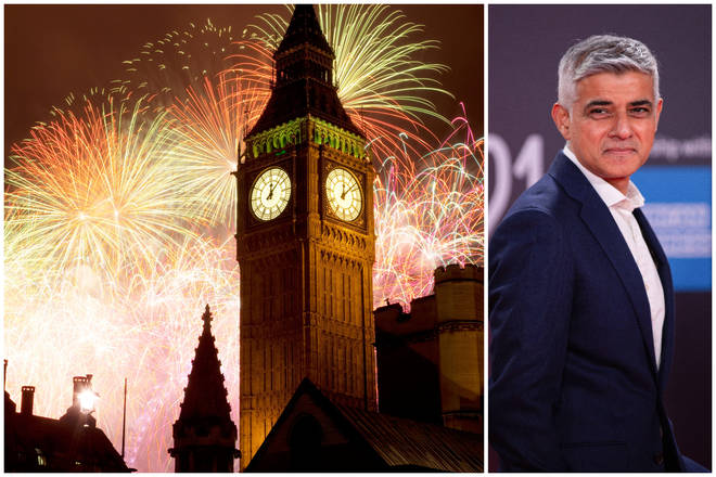 Sadiq Khan is now saying a steward shortage is a factor behind the cancelled New Year fireworks