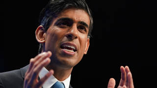 Rishi Sunak has insisted Christmas shopping won't be an issue this winter