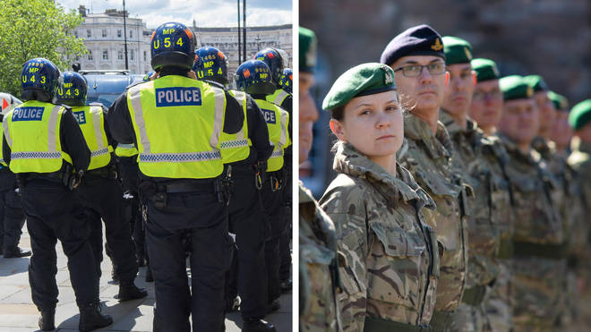 Police chiefs are considering a direct entry route into the police for military intelligence personnel