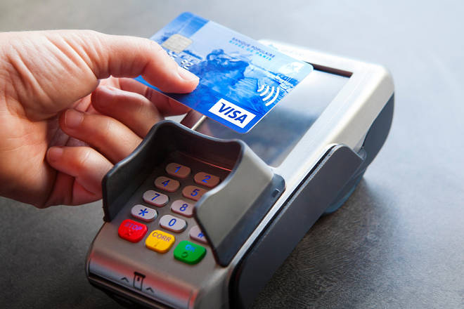 The contactless limit is rising from £45 to £100