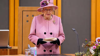 The Queen made the remarks after attending the ceremonial opening of the Sixth Senedd in Cardiff