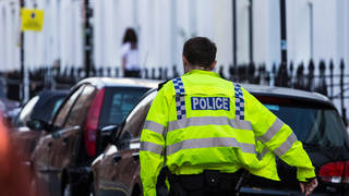 File photo of a Sussex Police officer