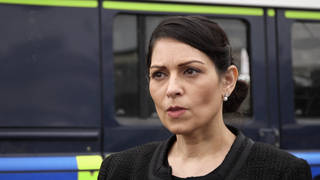 Priti Patel said MPs cannot be cowed by an individual's actions