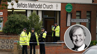 Sir David was fatally stabbed on Friday