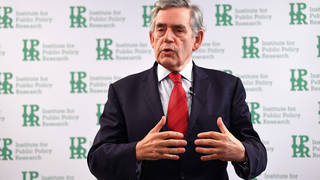 Former PM Gordon Brown wants to send over a billion vaccines to low-income countries