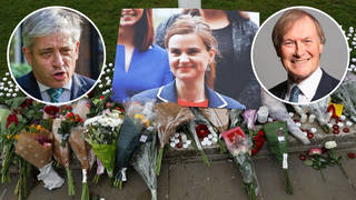 John Bercow says politics is barely less toxic than in 2016 when Jo Cox was murdered.