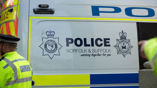 Suffolk Police have arrested four men following the incident.