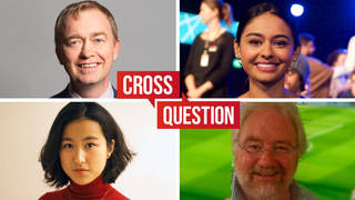 Cross Question with Iain Dale 18/10 | Watch LIVE from 8pm