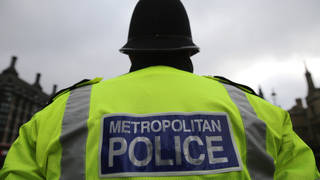 The Met Police are investigating the incident.