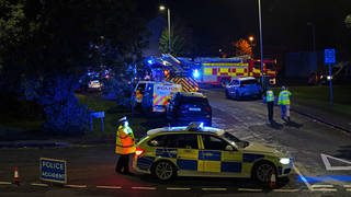 Three people have been injured in the blast