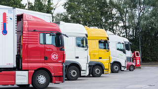 The shortage of lorry drivers in the UK has caused chaos to the supply chain