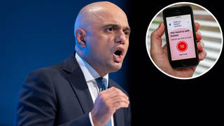 Sajid Javid has warned of a 'tough winter' for the NHS