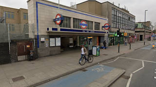 Three people were stabbed on a night bus outside of Mile End station
