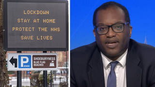 """Kwasi Kwarteng has """"categorically"""" ruled out bringing back lockdown restrictions"""