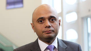 Sajid Javid will give the update on Wednesday afternoon