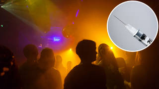 Women have reported being injected without their knowledge on nights out