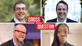 Cross Question with Iain Dale 20/10 | Watch LIVE from 8pm