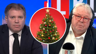 Ed Argar has told LBC the public can start to book Christmas parties.