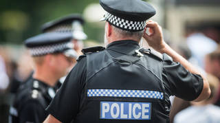 A file image of a Hampshire Police officer