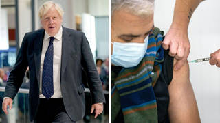 Boris Johnson wants to stick to Plan A and urged people to get their vaccines