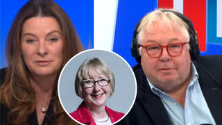 The Care Minister was speaking to LBC's Nick Ferrari