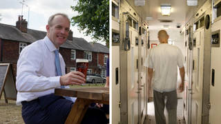 There is a shortage of hospitality staff, so Dominic Raab is drafting in ex-convicts to help ease the pressure.
