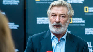 Alec Baldwin pictured two weeks ago at a film premiere