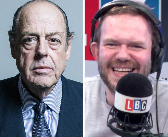 Tory MP Sir Nicholas Soames phoned James O'Brien's Mystery Hour on Thursday