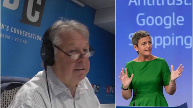 Nick Ferrari EU Google