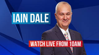 Iain Dale on Sunday | Watch live from 10am
